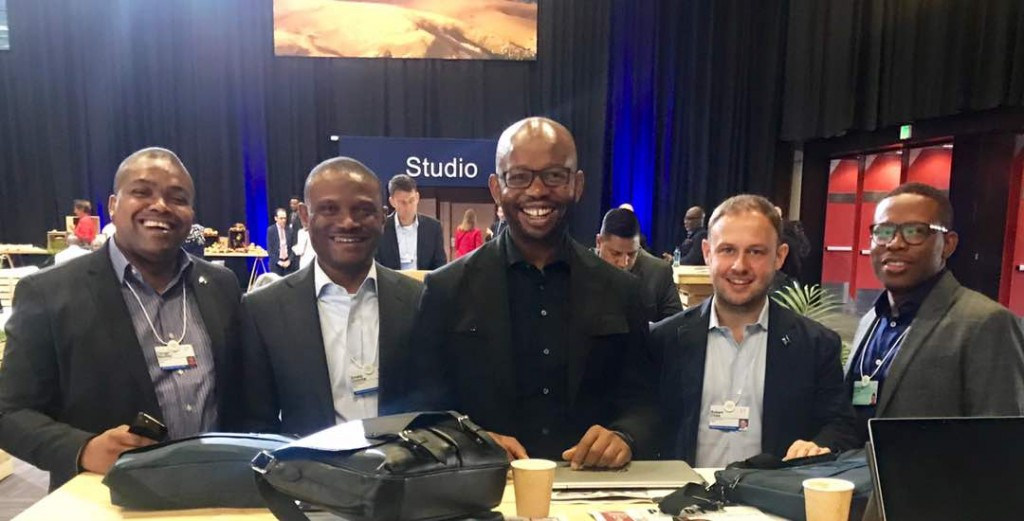 Uzoma Dozie Diamond Bank World Economic Forum 2017