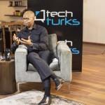 Uzoma Dozie at Tech Turks